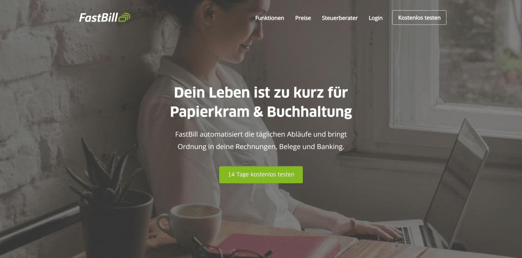 FastBill Buchhaltungssoftware