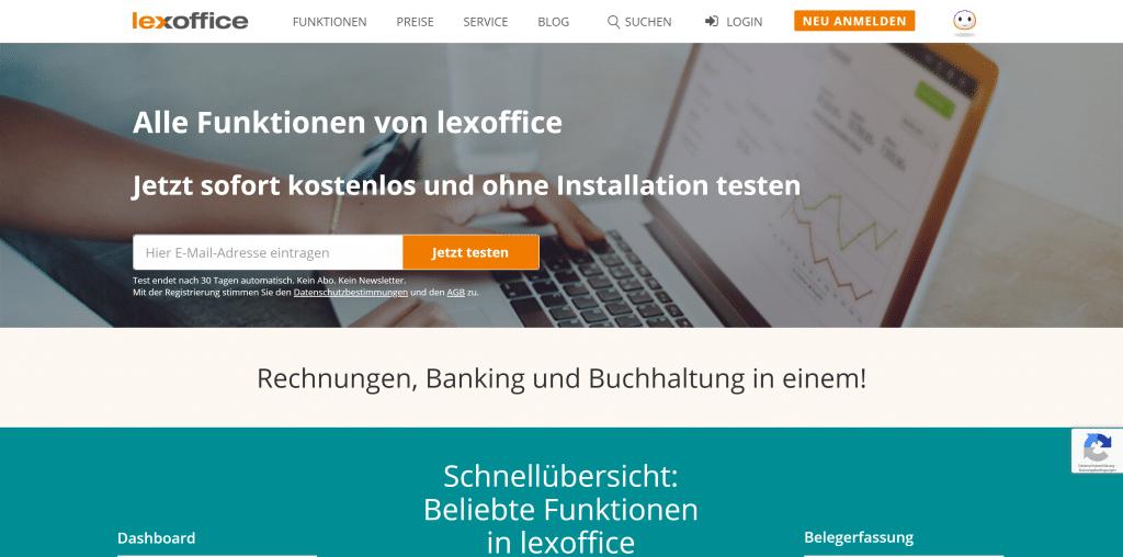 lexoffice-Buchhaltungssoftware